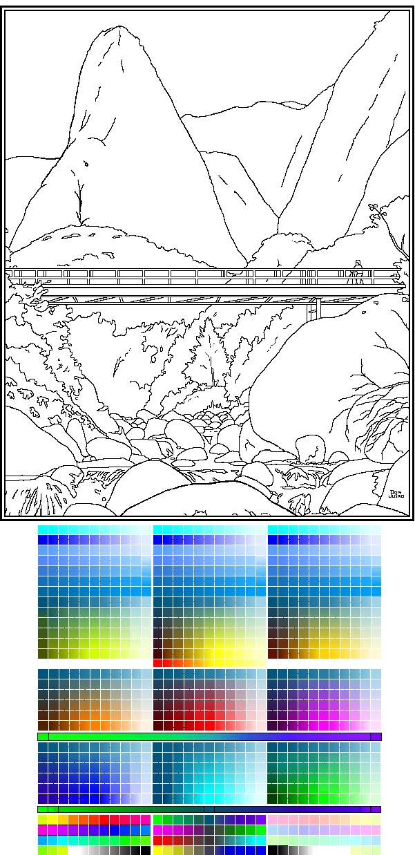 Coloring Image and palette