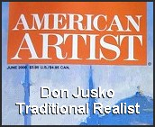 June 2000, American Artist interview.  Click for the story.