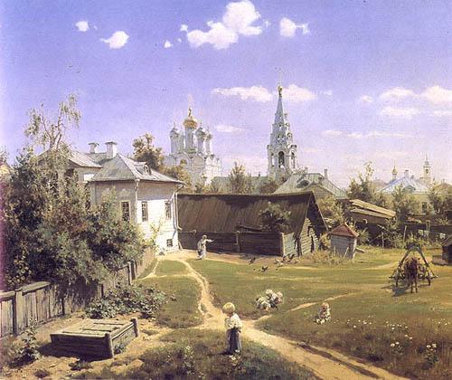 Polenov painting