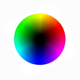 RGB colorwheel, shade