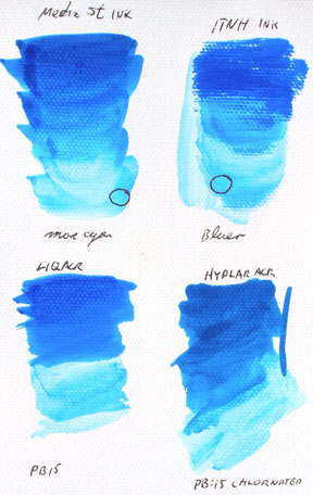 compare ink and pigment