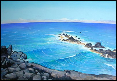 How to Paint an Easy Painting of Waves